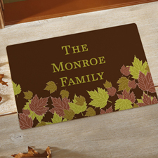 Fall Personalised Doormat