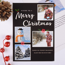 Christmas Collage Personalised Photo Card