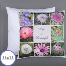 Personalised 8 Collage Photo Pillow 16