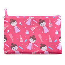 All Over Print Cosmetic Bag, 3.5