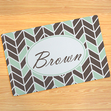 Fairbanks Personalised Doormat 17