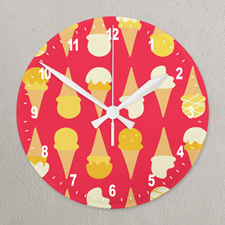 All Over Print Wall Clock Custom Printed