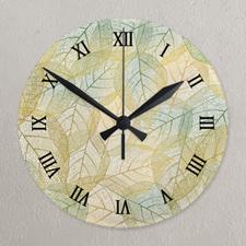 Roman Face Photo Acrylic Clock Custom Printed