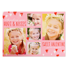 Sweet Valentine Personalised Photo Card