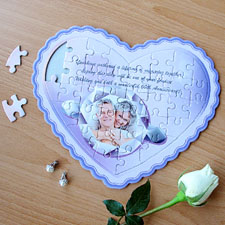 My Girl Personalised Heart Shape Puzzle