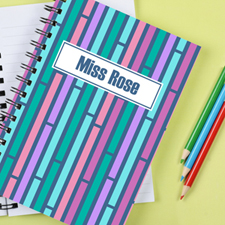 Pattern Personalised Notebook