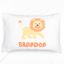 Lion Personalised Pillowcase