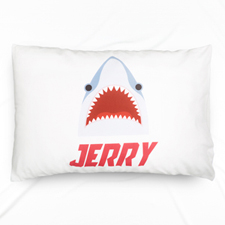 Shark Personalised Name Pillowcase