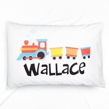 Steam Train Personalised Pillowcase