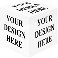 Design Your Own Wood Photo Cube, 6 Panels