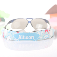 Beach Personalised Sunglass Strap