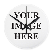 All Over Print Frameless Custom Wall Clock, 10.75