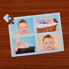 Personalised Baby Blue 4 Collage 12