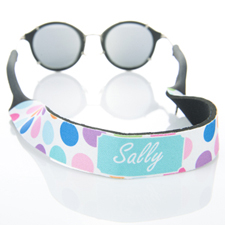 Colourful Dot Monogrammed Sunglass Strap