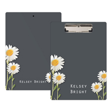 Daisies Personalised Clipboard