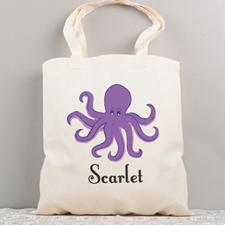 Personalised Summer Cotton Tote Bag