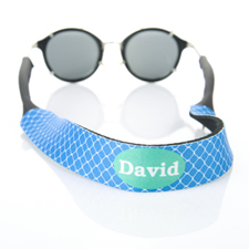 Blue Clover Custom Name Sunglass Strap