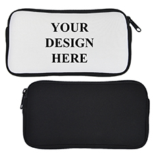 Custom Design Neoprene Pencil Case (Custom Front only)