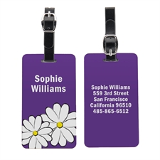 Daisy Personalised Aluminum Luggage Tag