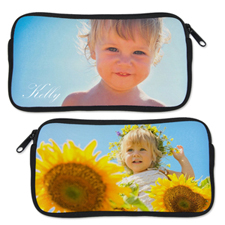 Custom Photo Neoprene Pencil Case (Custom front and back)