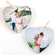 Custom Photo Heart-Shaped Coin Purse