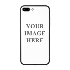 Custom Photo Phone Case with Black Liner for Apple iPhone 7 Plus/ 8 Plus
