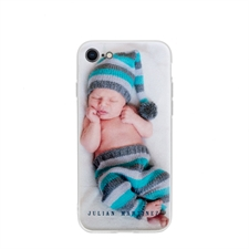 Personalised Photo iPhone 7/8 Case with Clear Liner