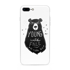 Personalised Graphic Apple iPhone 7 Plus / 8 Plus Case with Clear Liner