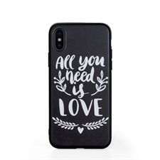 Custom Design Phone Case with Black Liner for iPhone X / Xs