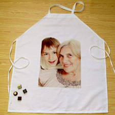 Portrait Photo Personalised Adult Apron
