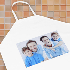 Two Collage Personalised Adult Apron
