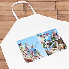 Three Collage Personalised Adult Apron