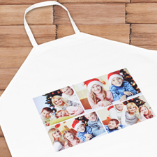 Four Collage Personalised Adult Apron