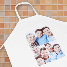 Classic Three Collage Personalised Adult Apron
