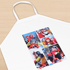 Five Collage Personalised Adult Apron