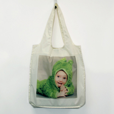 Personalised Full Square Image Foldable Shopper Bag