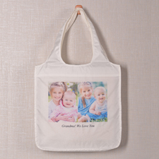 Personalised 2 Collage Shopper Bag, Classic