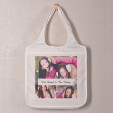 Personalised 3 Collage Shopper Bag, Snapshots
