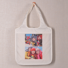 Personalised 3 Collage Shopper Bag, Classic