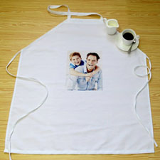 Small Portrait Photo Personalised Adult Apron