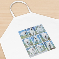 Nine Collage Personalised Adult Apron