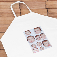Ten Collage Personalised Adult Apron