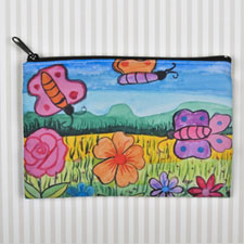 Kids Drawing Personalised Cosmetic Bag 6