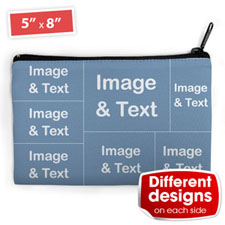 Seven Collage Medium (2 Side Different Image) Makeup Bag 5