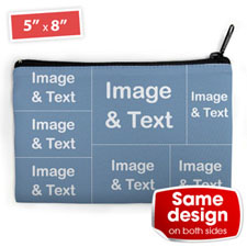 Seven Collage Medium (2 Side Same Image) Makeup Bag 5