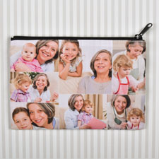 Personalised Seven Collage Photo Cosmetic Bag 6