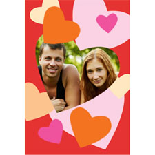 Frame Of Hearts Personalised Animated Invitation Card 4