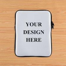 Print Your Design Ipad Sleeve Black Zipper