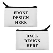 Custom Full Colour Print Medium (2 Side Different Image) Makeup Bag 5