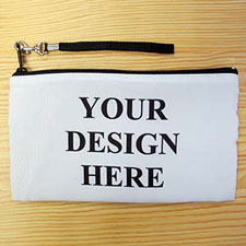 Personalised Custom Full Colour Print (2 Side Same Image) Clutch Bag 5.5